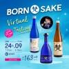 BORN Sake - Virtual Tasting hosted by Master Sake Sommelier Mr. Joshua Kalinan