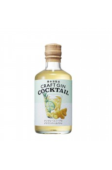 Craft Gin Cocktailginger And Herbs 22% Liqueur 300Ml (By Yomeishu)