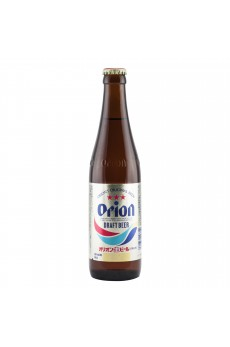 Orion Draft Beer Bottle 5% - Case 24 X 334ml