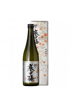 Koshinokanchubai Gin Label Jyunmai Shu 14% 720ml (GB)