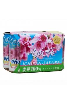 Orion Beer Ichiban Sakura 5% (350ml X 6)