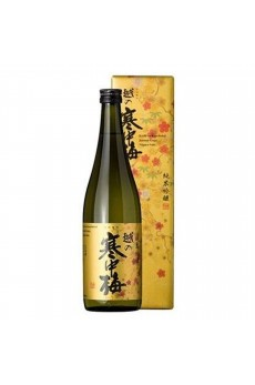 Koshinokanchubai Kin Label Junmai Ginjo 14% 720ml