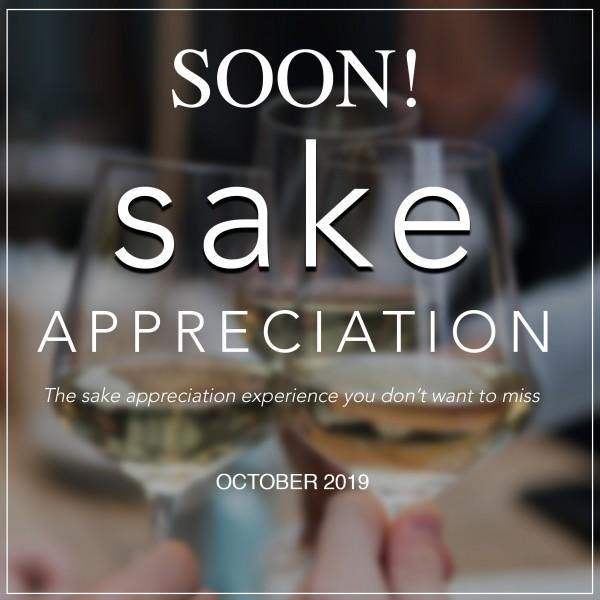 1st Sake.Sg Sake Appreciation Soon!