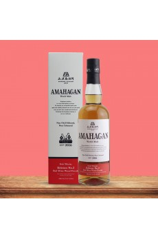 Amahagan World Malt Whisky Edition No.2 Red Wine 47% 700ml (GB)