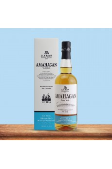 Amahagan World Malt Whisky Edition No.3 Mizunara 47% 700ml (GB)