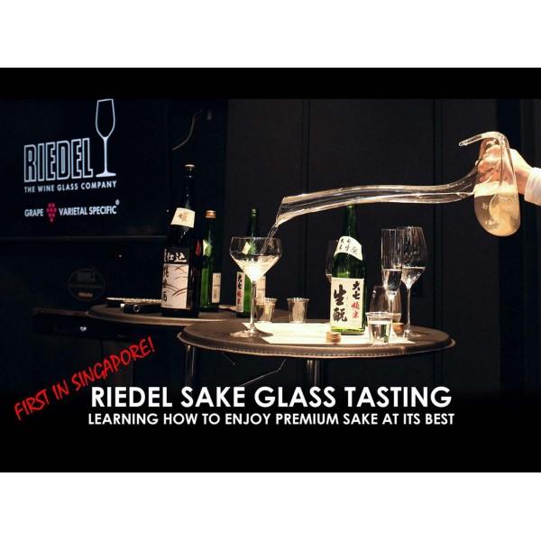 Riedel Sake Glass Tasting