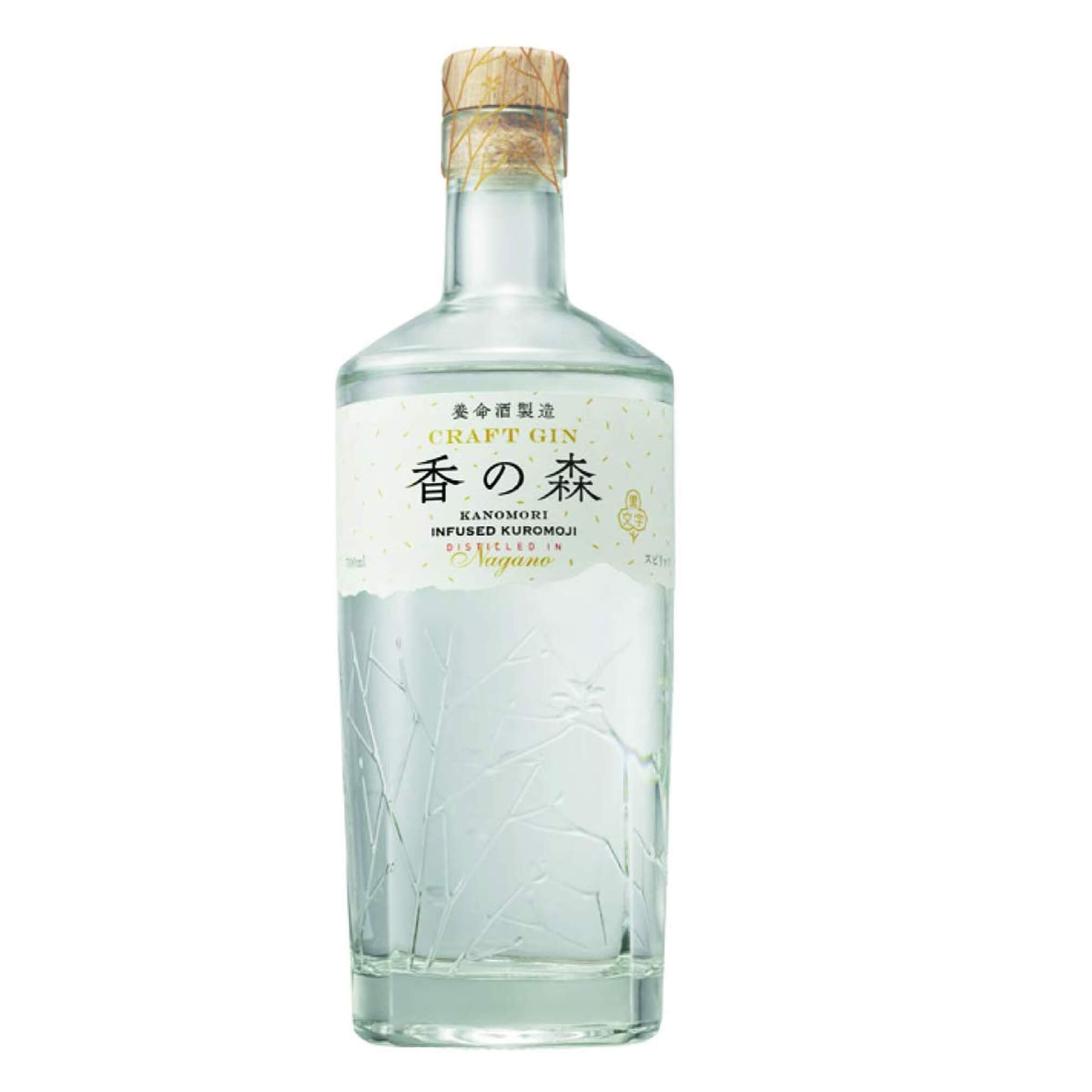 Craft Gin Kanomori 47% Spirit 700Ml (By Yomeishu)