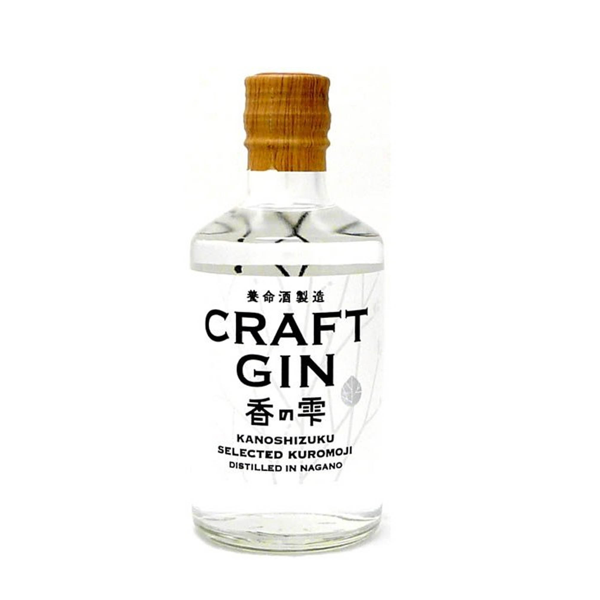 Craft Gin Kanoshizuku 37% Spirit 300Ml (By Yomeishu)